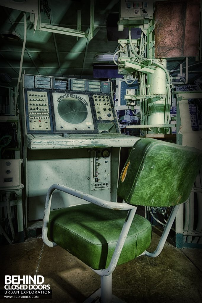 Atlantic Ghost Fleet - Chair at radar console