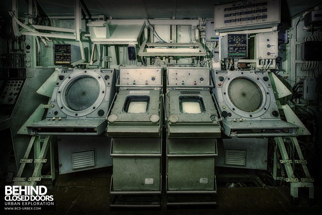 Atlantic Ghost Fleet - Equipment in the radar room