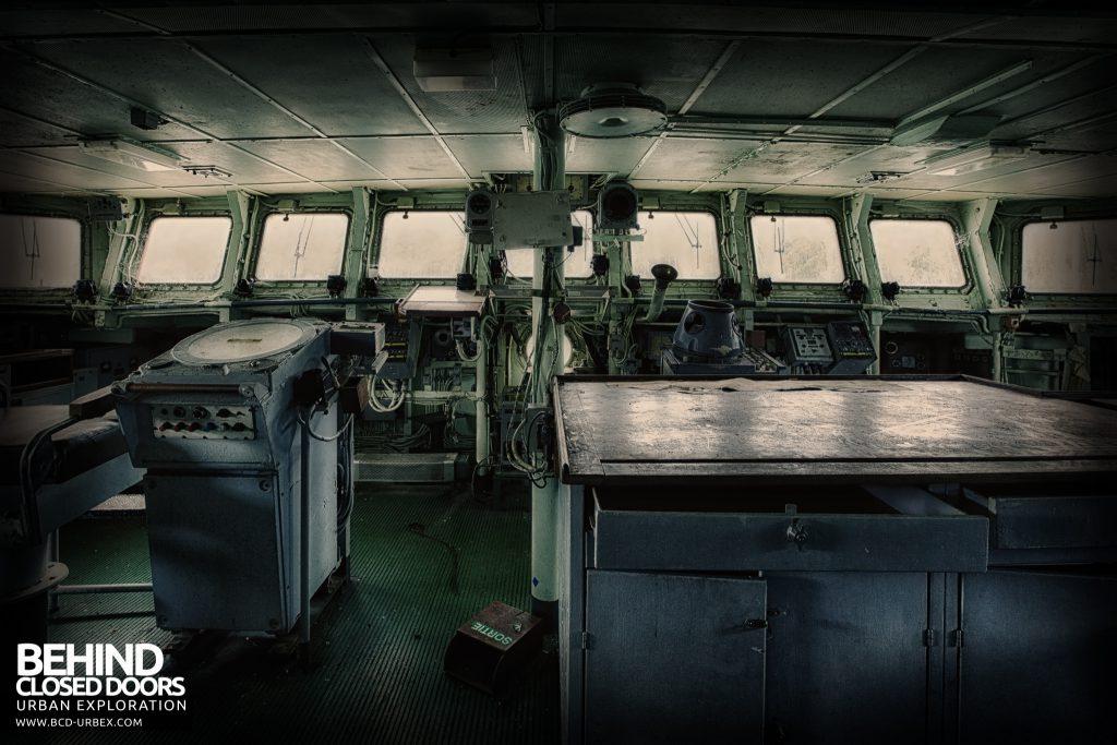 Atlantic Ghost Fleet - The Bridge