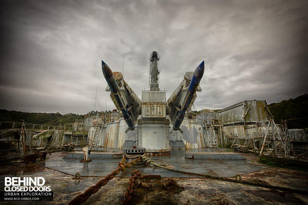 Atlantic Ghost Fleet - Masurca Missiles on deck