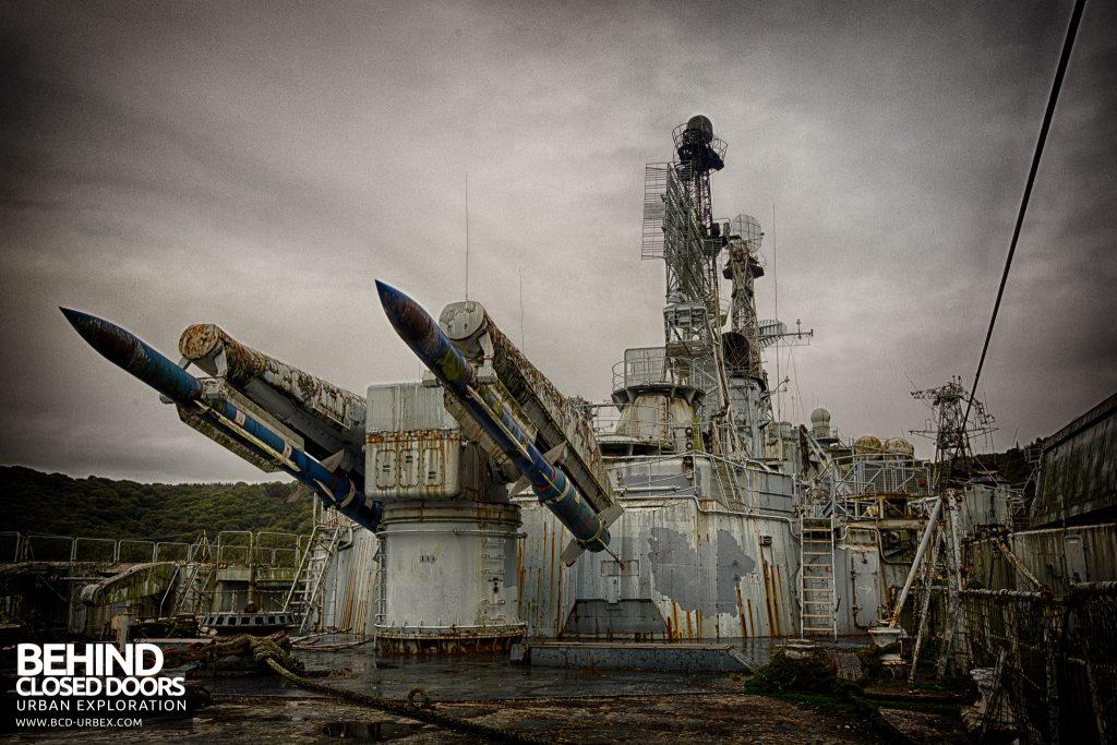 Atlantic Ghost Fleet - Vast array of weaponry on board