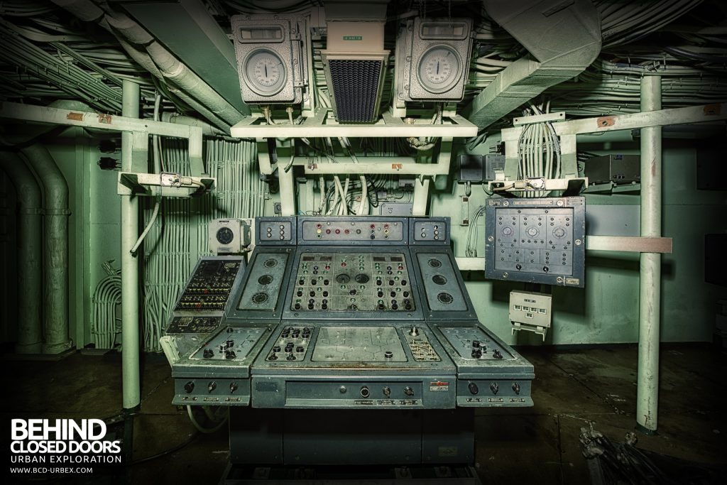 Atlantic Ghost Fleet - Exocet Missile Launching and Guidance Control Desk
