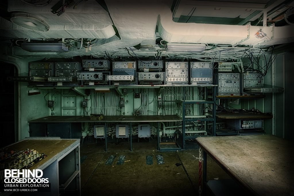 Atlantic Ghost Fleet - Transmitters and Receivers in the Radio Room