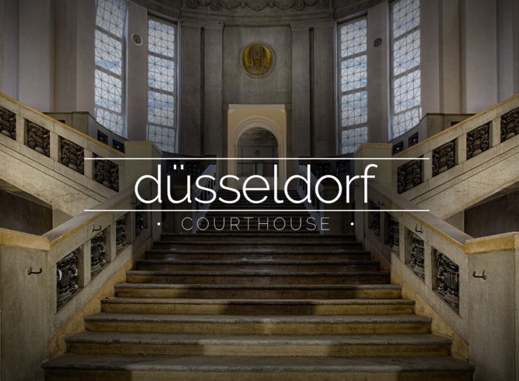 Grand Courthouse, Düsseldorf, Germany