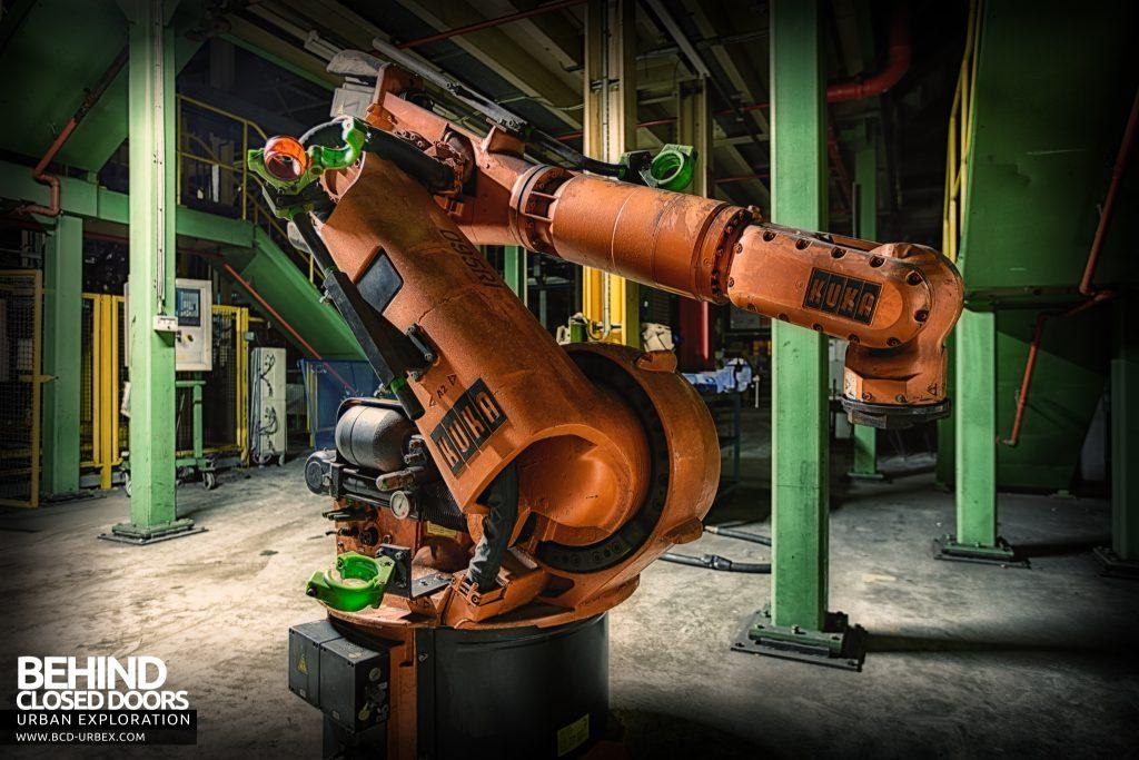 Ford Plant, Swaythling - Kuka robot