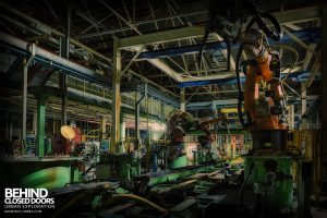 Ford Plant, Swaythling - Production line