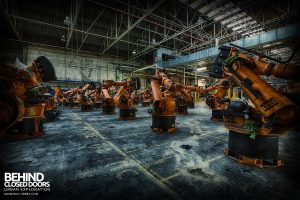 Ford Plant, Swaythling - Disassembled robots