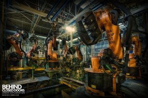 Ford Plant, Swaythling - Automated workforce