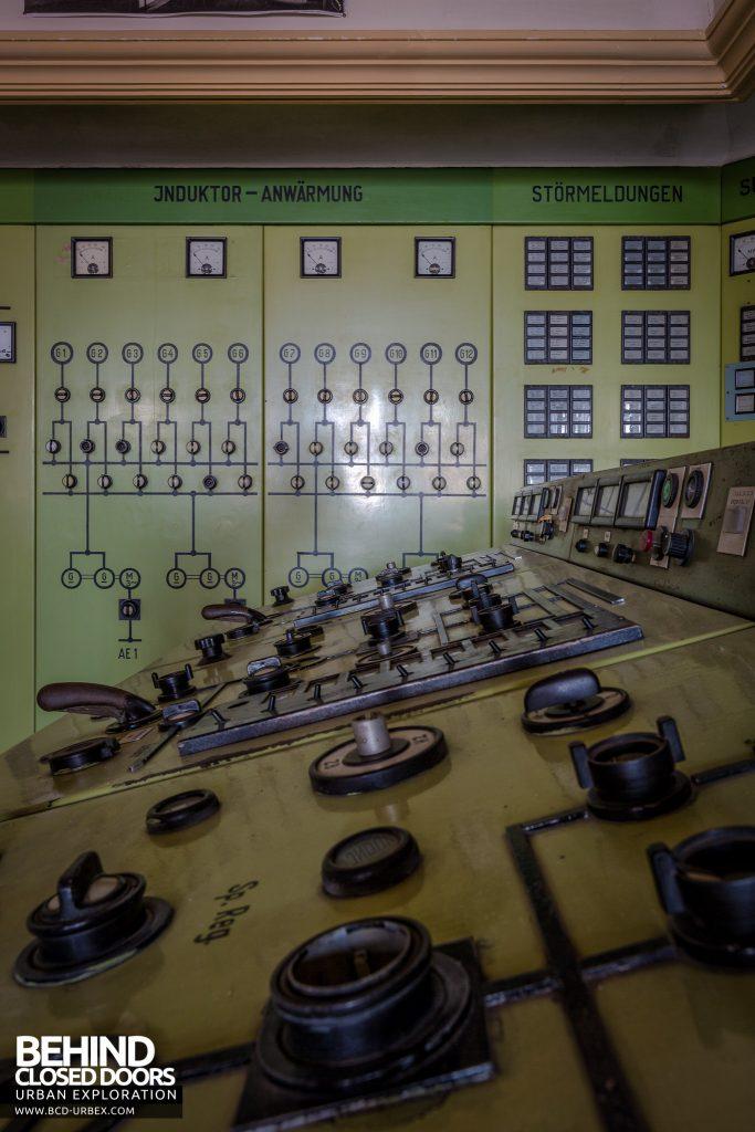 Kraftwerk V, Germany - Dials on control desk