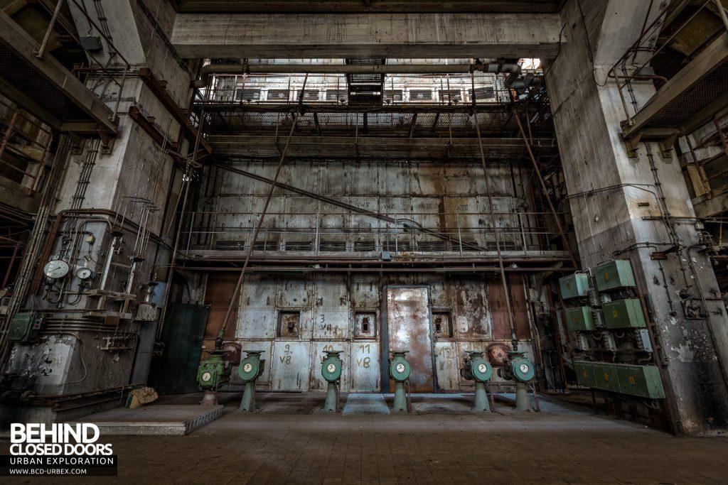 Kraftwerk V, Germany - Pumps and walkways