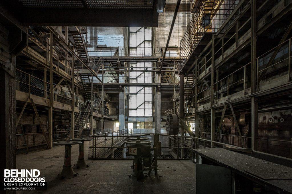 Kraftwerk V, Germany - Boiler house