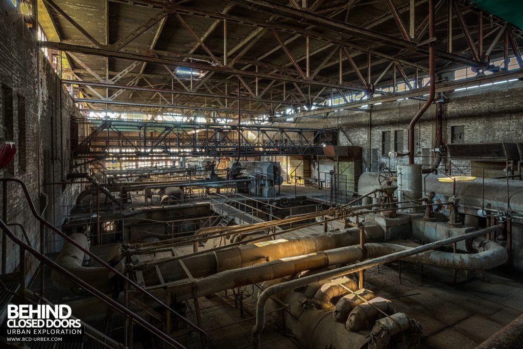 Kraftwerk V, Germany - On top of the boilers