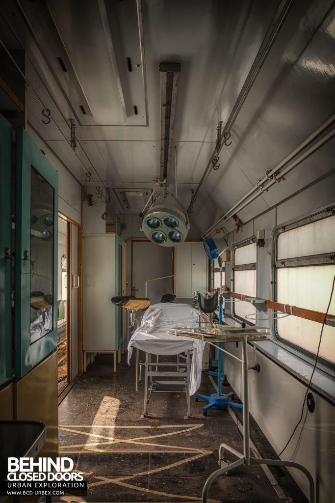Medical Train, Germany - The medical bay