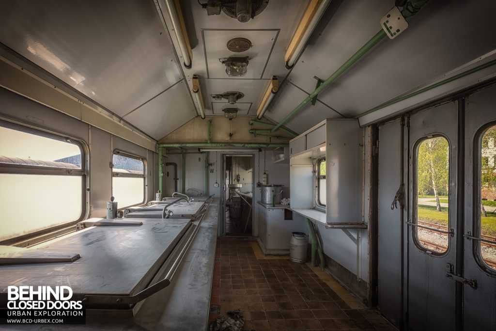 Medical Train, Germany - Kitchen area