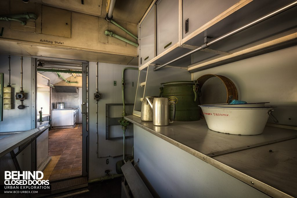 Medical Train, Germany - Fully equipped kitchen