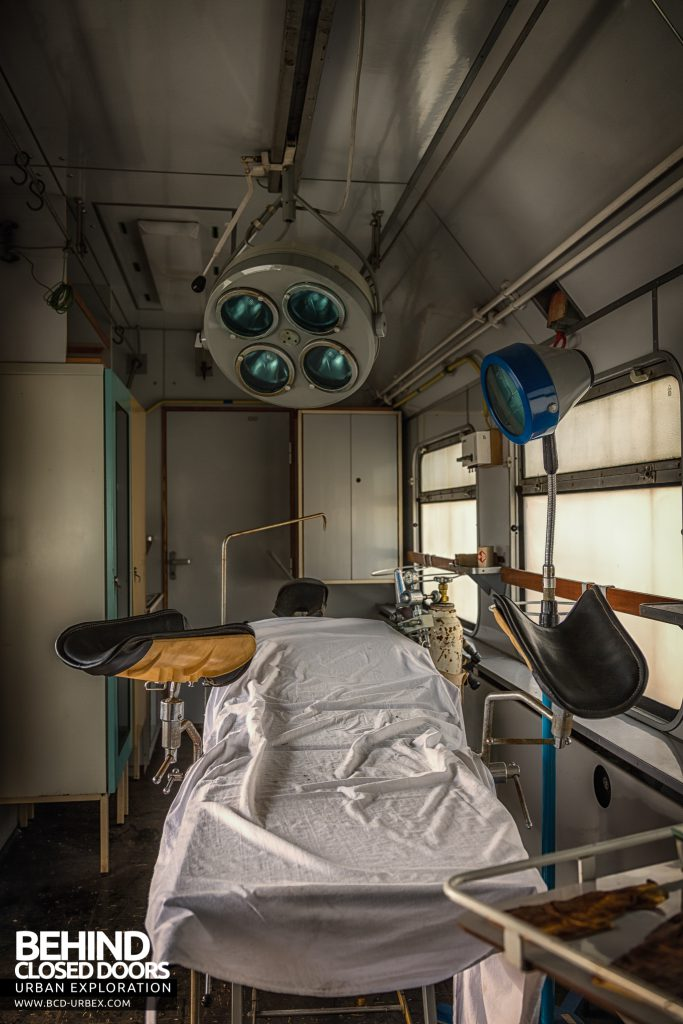Medical Train, Germany - Bed from the end