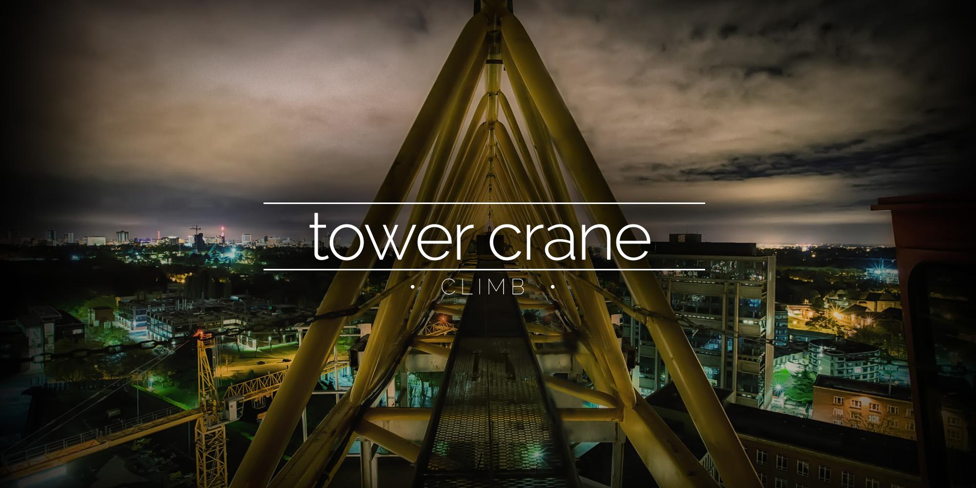 Climbing A Tower Crane