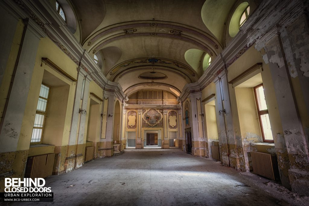 Manicomio di Racconigi - The stunning combined hall and chapel