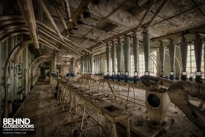 Millennium Mills - Old pipes