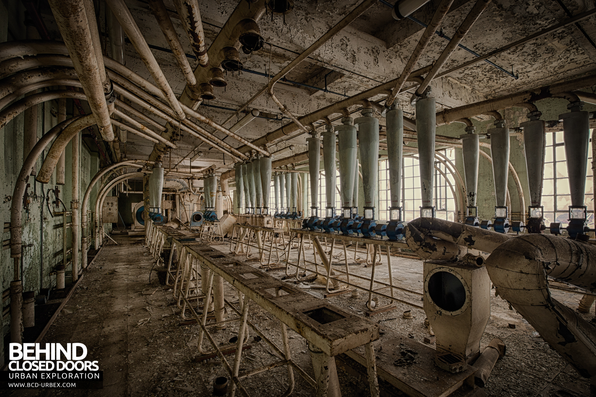 Spillers Millenium Mills London 187 Urbex Behind Closed