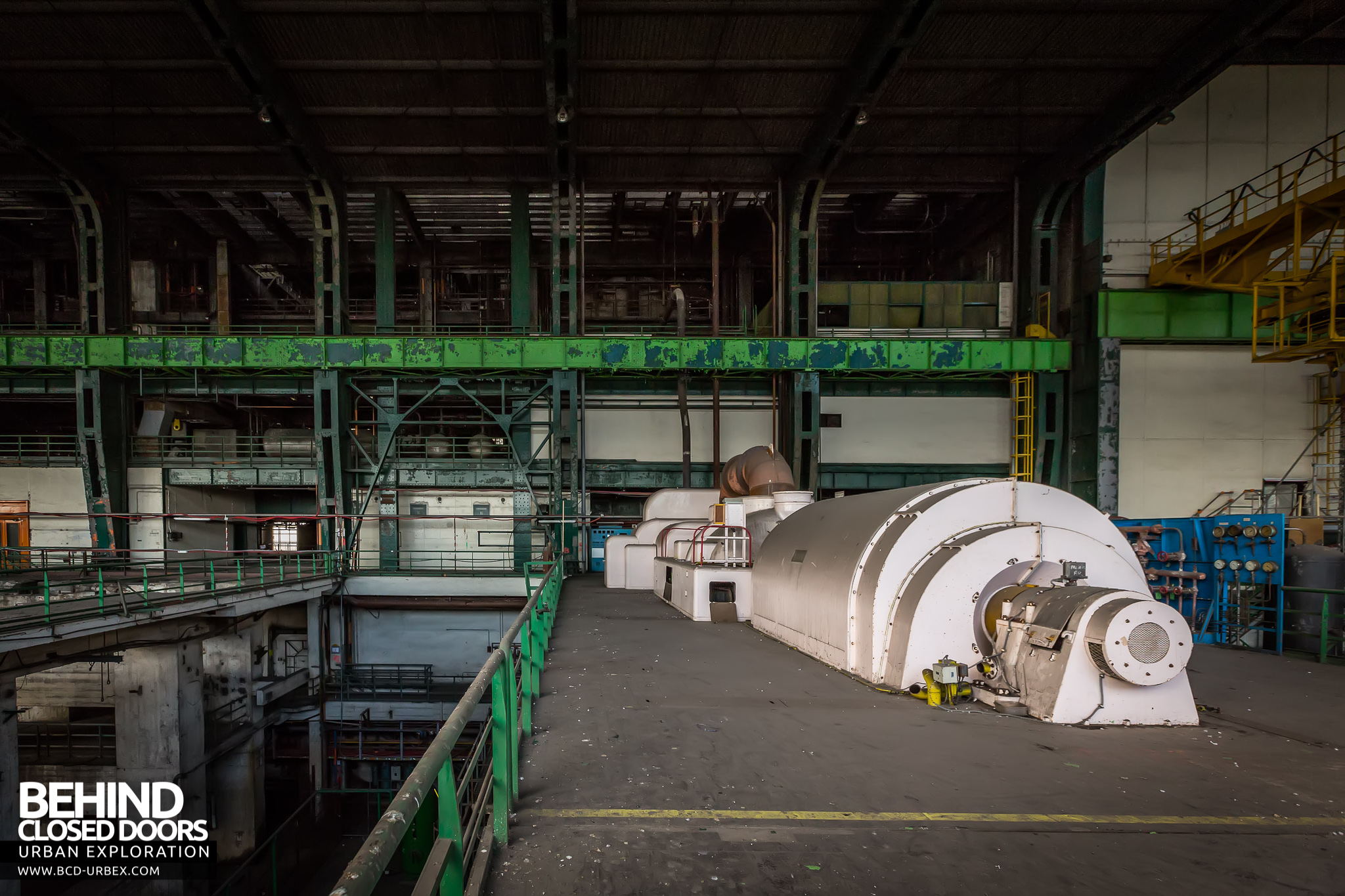Richemont Power Plant Lorraine France Urbex