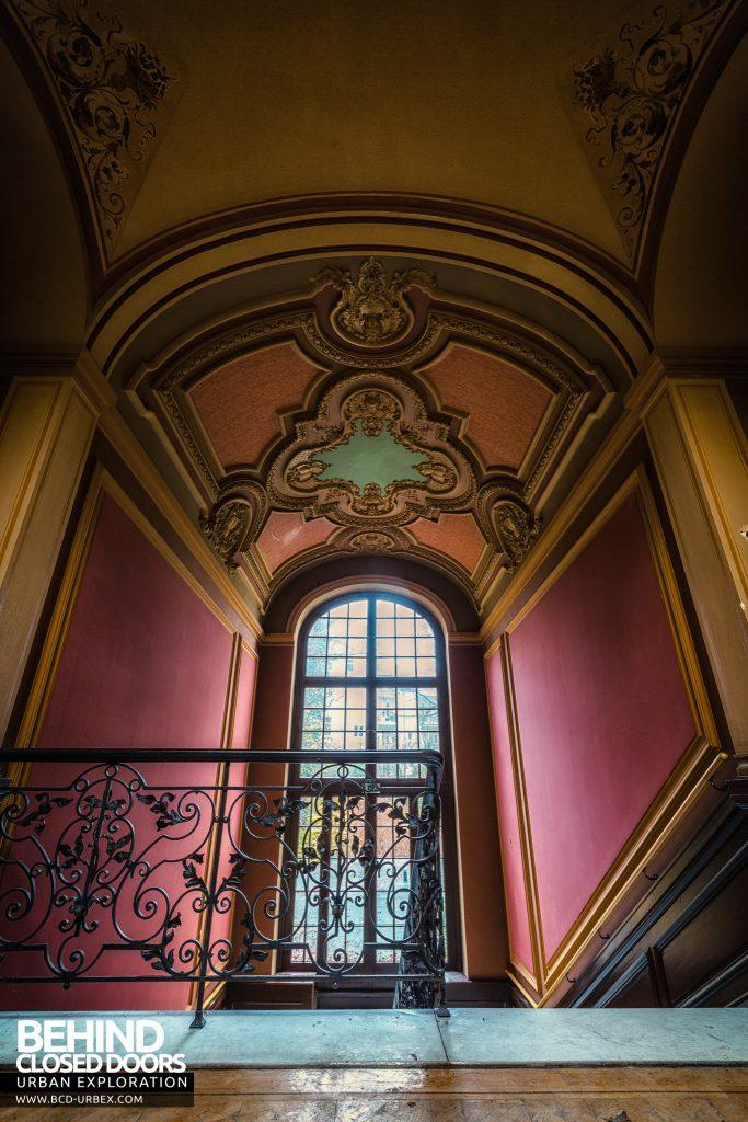 Villa Woodstock - The stairwell