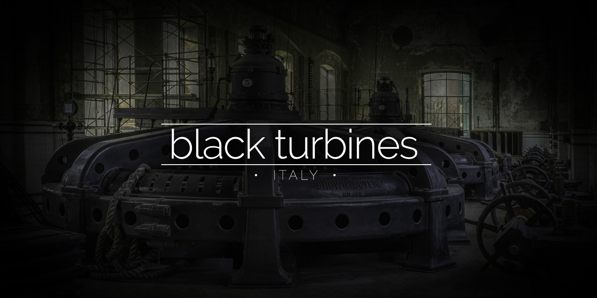The Black Turbines, Italy