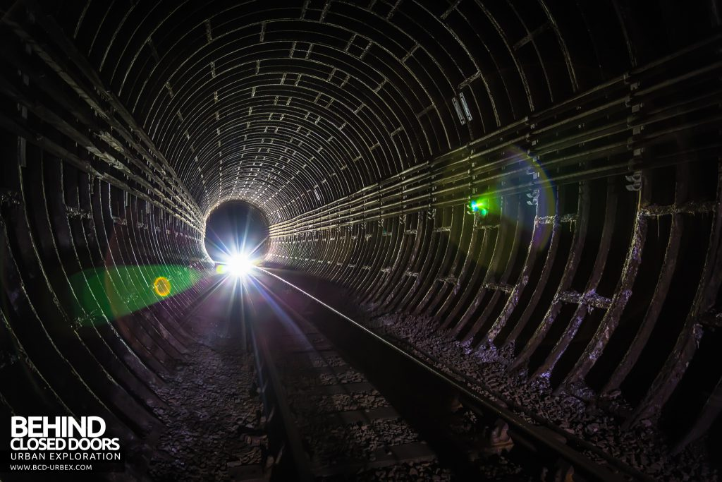 Camden Rat Hole - Light at the end of the tunnel
