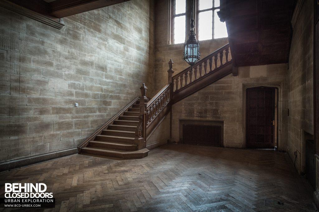 Carmel College - Main staircase
