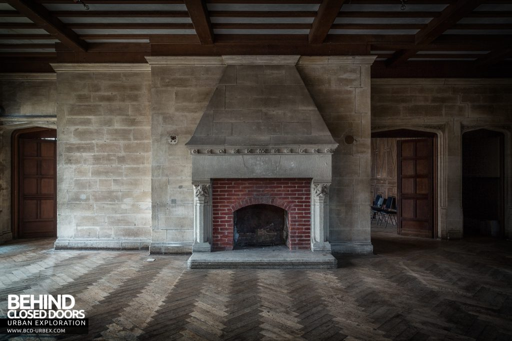 Carmel College - Hall fireplace