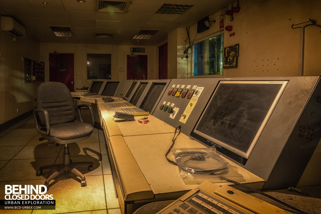British Celanese, Spondon - Newer, computerised control room