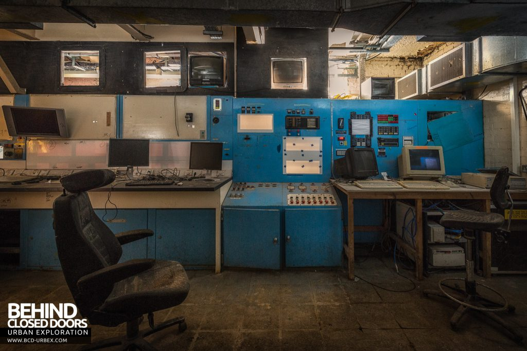 British Celanese, Spondon - Another control room in the older parts of the site