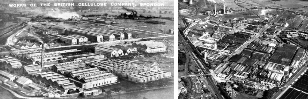 British Celanese, Spondon - The site was expanded massively over time