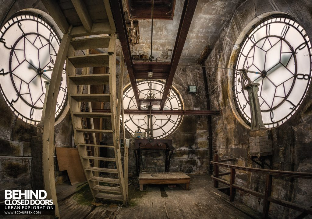 High Royds Asylum - Inside the clock tower