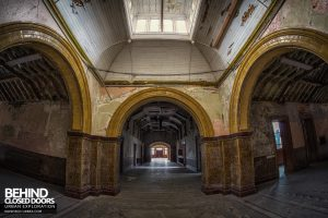 High Royds Asylum - Triple arches