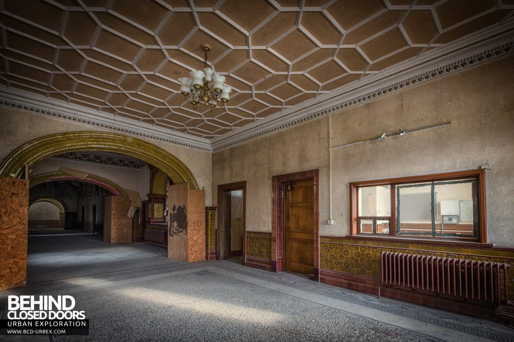 High Royds Asylum - Front office inside the main entrance