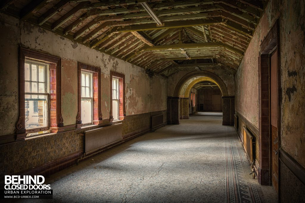 High Royds Asylum - Nice corridors
