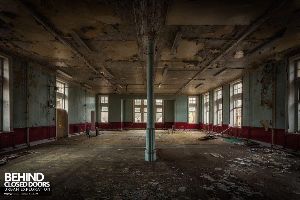 High Royds Asylum - One of the large wards