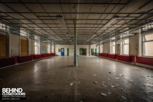 High Royds Asylum - Another ward area