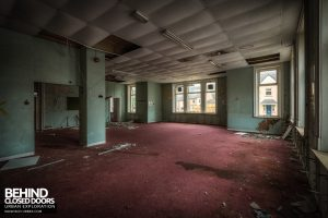 High Royds Asylum - Area with carpet