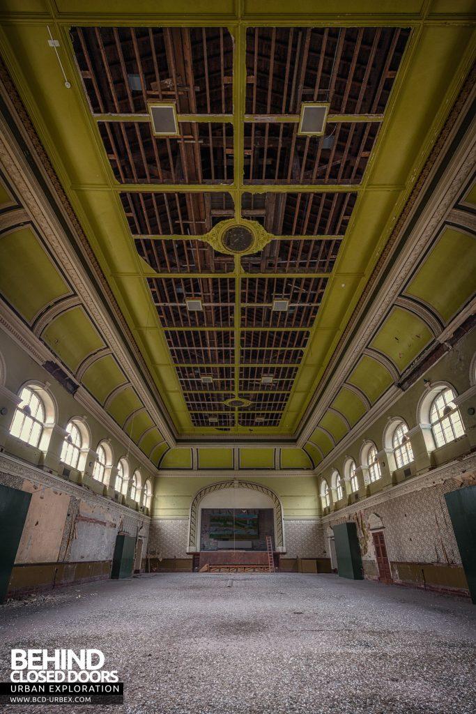 High Royds Asylum - Main hall