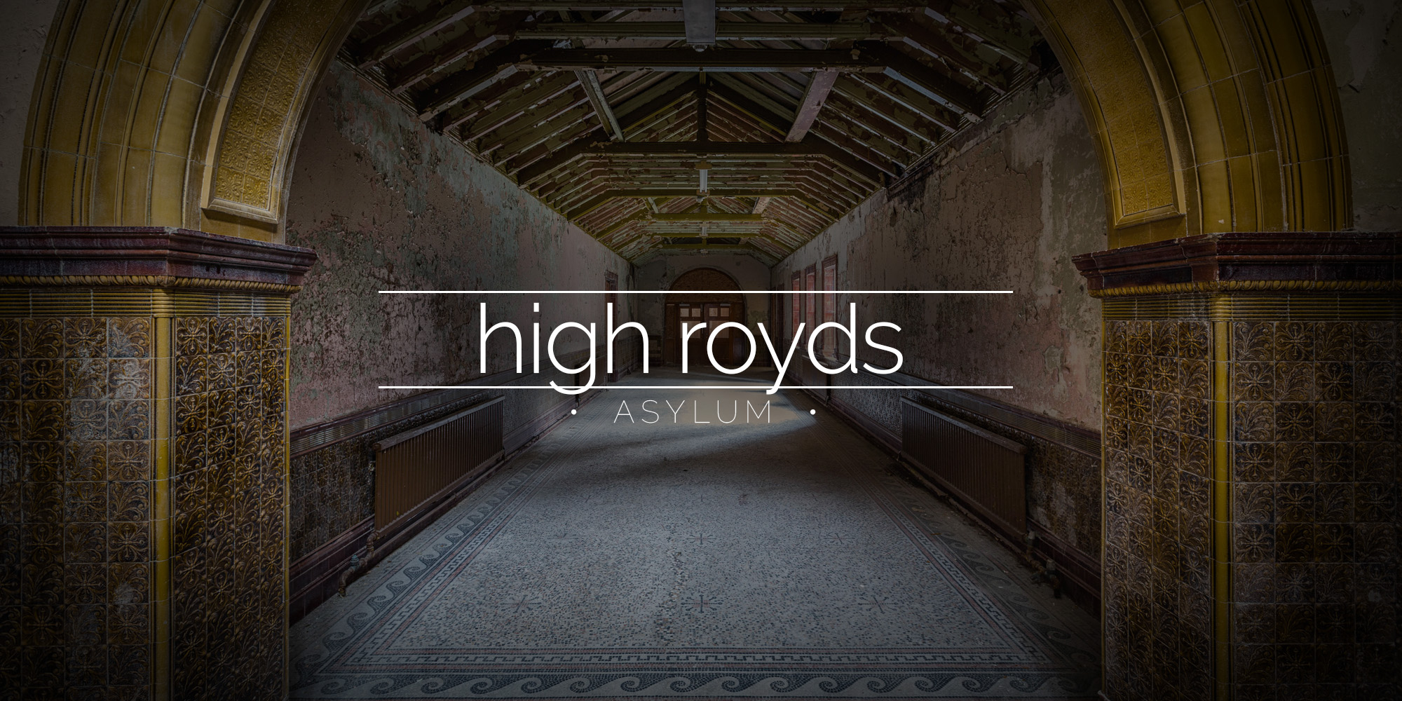 High Royds Asylum, Menston, Yorkshire, UK