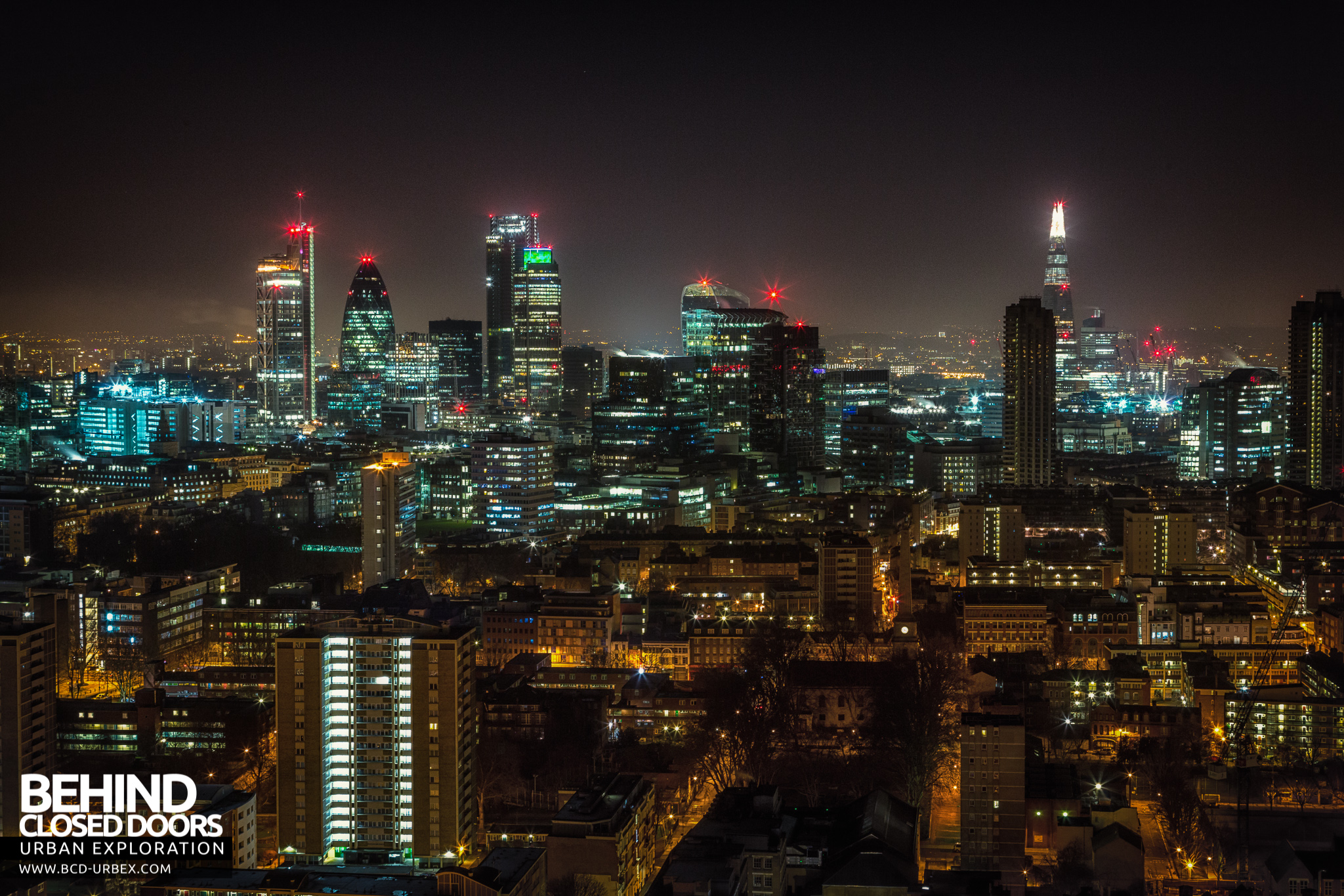London City Rooftops January 2015 187 Urbex Behind