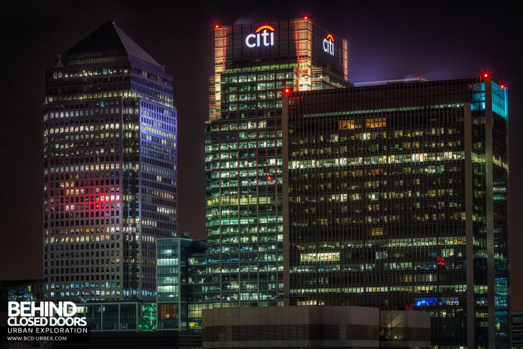 London City Rooftops - The Citi building amongst others
