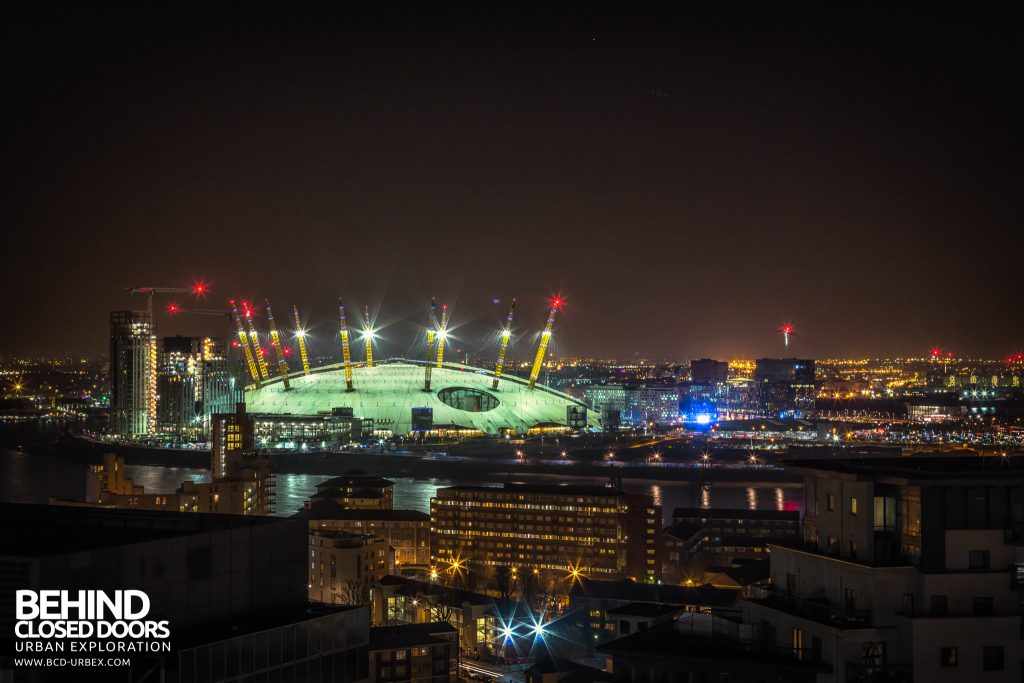 London City Rooftops - The O2 Arean