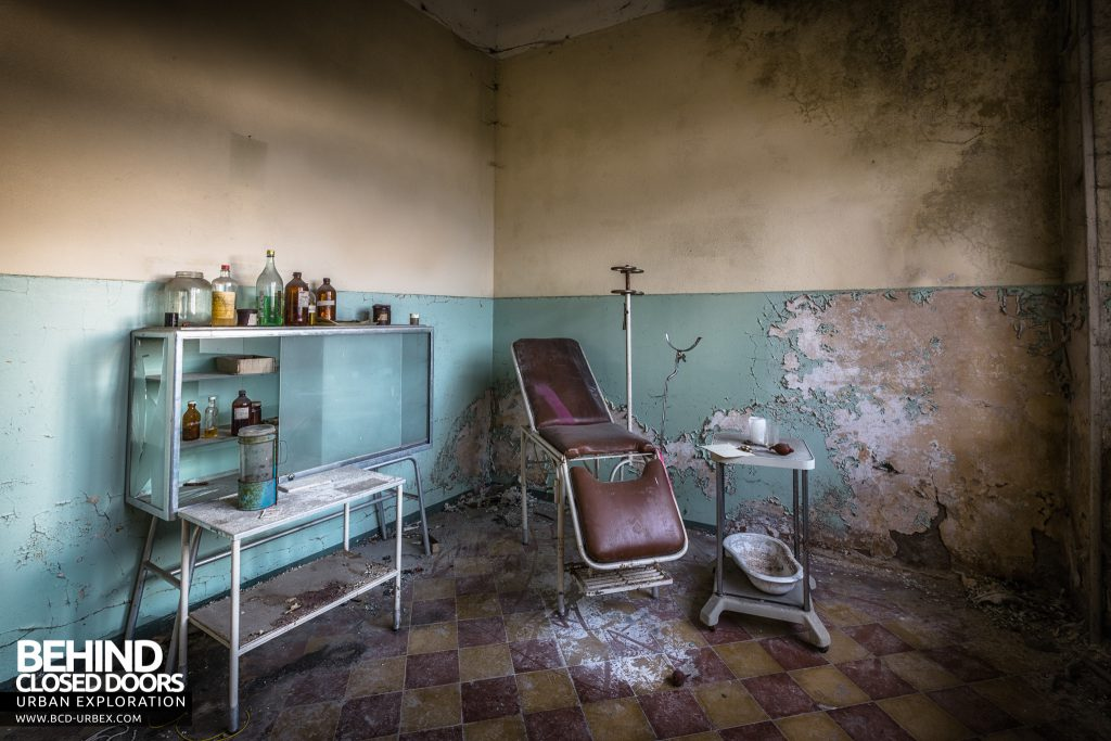 Mono Orphanage, Italy - Medical room