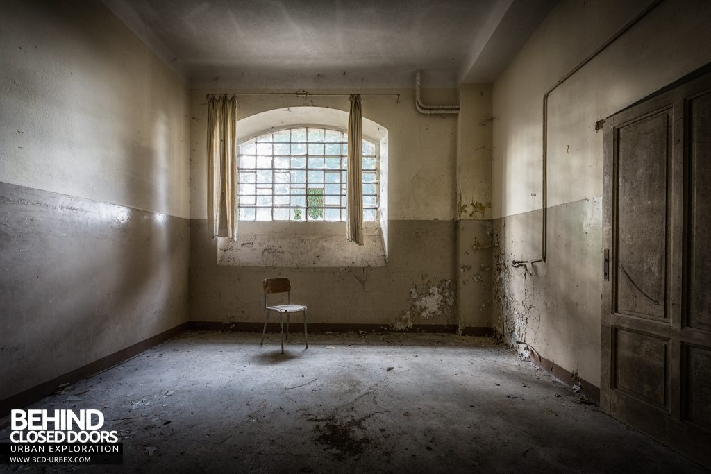 Mono Orphanage, Italy - Chair in room with nice window
