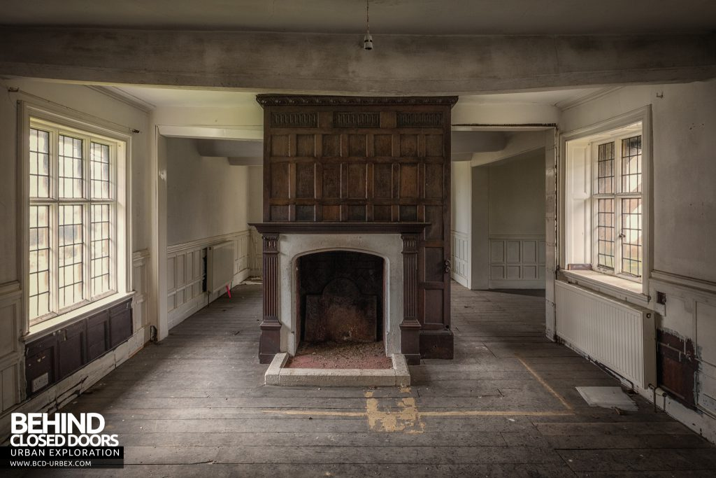 Pitchford Hall - Other side of fireplace