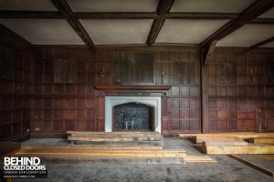 Pitchford Hall - Timber beams