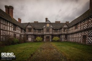 Pitchford Hall - Very detailed exterior